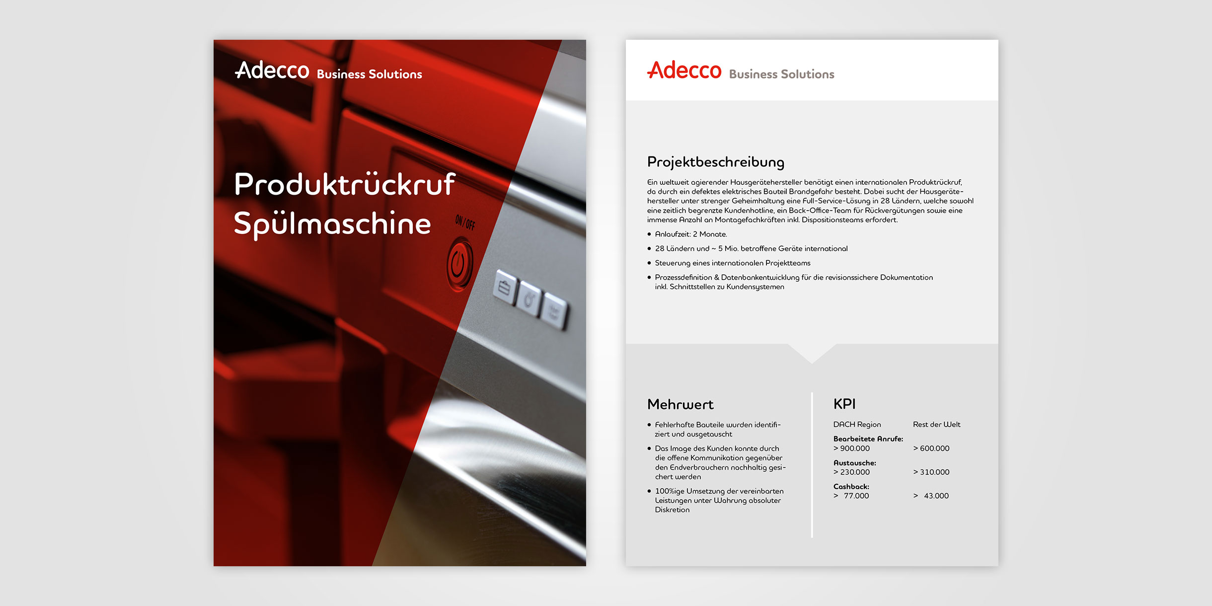 Adecco Business Solutions - Case Study