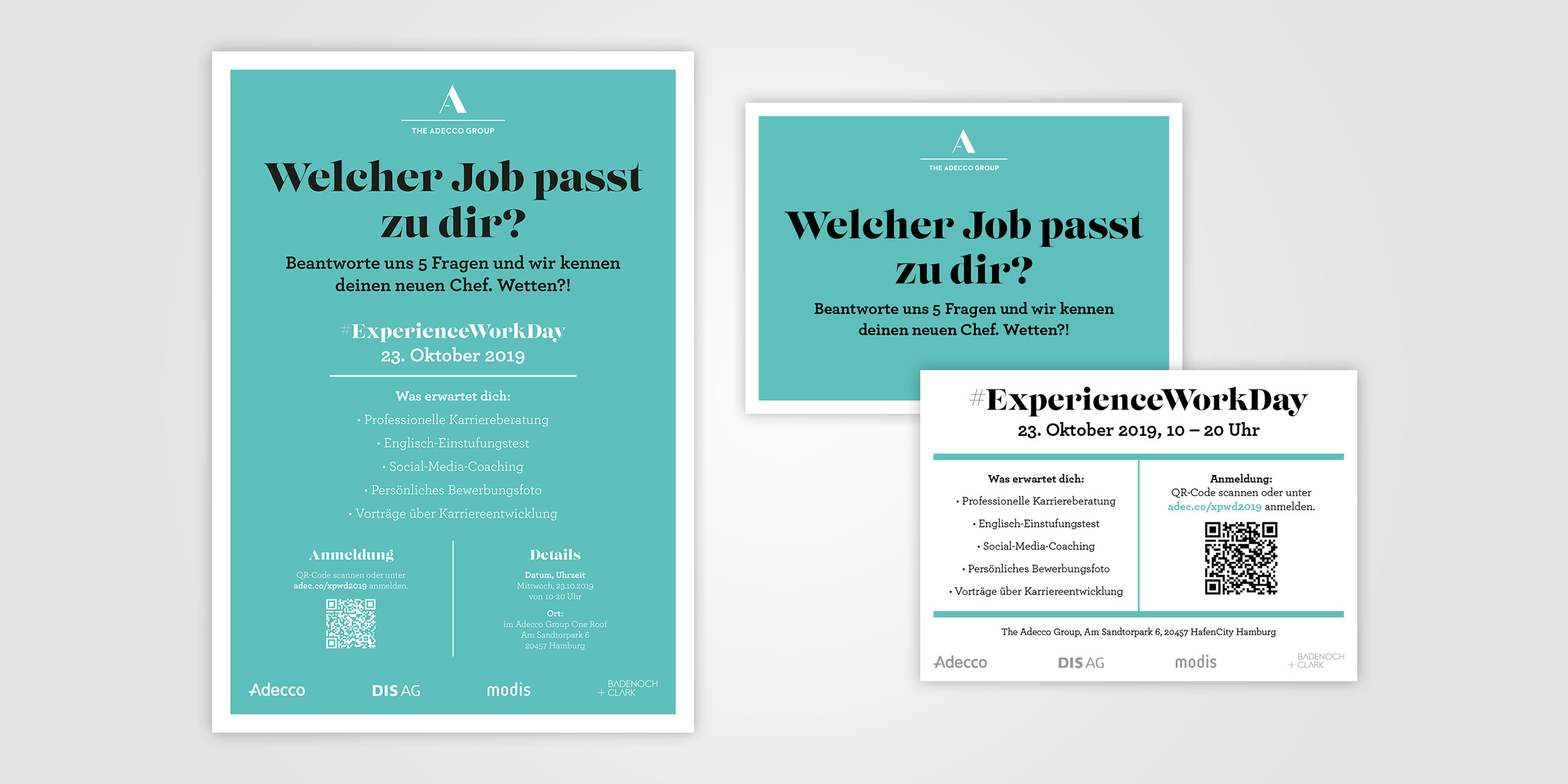 Adecco Group Germany - Poster und Postkarte